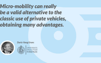 Micro-mobility can really be a valid alternative to the classic use of private vehicles